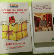 Tommy Cooper Vhs How Do You Turn Yet Another Birthday Into The Most Magical Ev