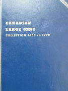 Set Of Canada Large Cents Coin 1859 - 1920 - 27 Coins In Whitman Book Sc63