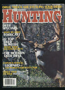 Vtg Petersenand039s Hunting Magazine Oct 1985 12 Top Deer Hunters Duck Decoys Match