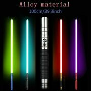 Lightsaber Sword Heavy Dueling Rechargeable Changing Color Jedi Sith Luke Saber