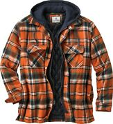 Legendary Whitetails Maplewood Hooded Shirt Jacket 7 Colors To Choose From