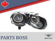 Bentley Continental Gt Gtc 2010-2011 Headlight Xenon New Lhd Rh 3w1941016ad