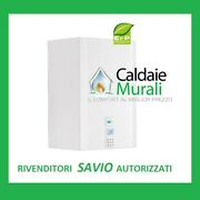 Boiler Savio Evodens Max He 35s In Condensation With Kettle 45 Lt + Kit Smoke