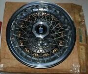 Nos 1978 1979 Buick Regal Wire Wheel Cover 1260015 New Gm Part