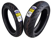 Michelin Pilot Power 5 120/70zr17 F 180/55zr17 R Radial Motorcycle Tires Set