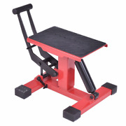 Motorcycle Lift Table Adjustable Height Jack Stand Easy Lifting Repairing Tool