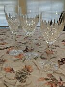 Waterford Crystal Castlemaine Red And White Wine/claret Glasses