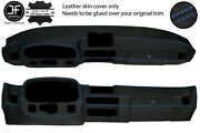 Blue Stitch Dashboard Real Leather Cover For Porsche 924 75-88 944 81-85 Jf2