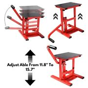 Motorcycle Dirt Bike Maintenance Adjustable Height Lift Table Stand Lifting Tool