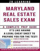 Maryland Real Estate Sales Exam 2014 Principles, Concepts And Hundreds Of P...
