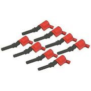 Msd 82428 Ignition Coils Blaster Coil Pack Square Epoxy Red Ford Lincoln 4.6/5.4