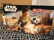 Star Wars Edition Operation Game Hasbro Help Repair Bb-8 Factory Sealed Ages 6+