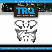 8 Piece Steering And Suspension Kit Control Arms Ball Joints Tie Rods End Links