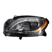 Replacement Headlight Assembly For Mercedes-benz Driver Side Mb2502195