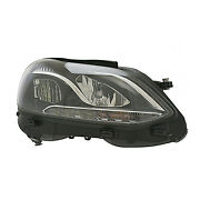 Replacement Headlight Assembly For Mercedes-benz Passenger Side Mb2503219