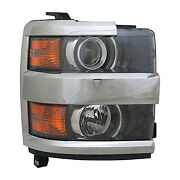 Replacement Headlight Assembly For Chevrolet Passenger Side Gm2503416c