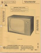 1960 Setchell Carlson Tl60 Television Service Manual Photofact Schematic 60c +++