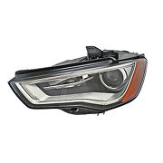 Replacement Headlight For A3 A3 Quattro S3 Driver Side Au2502191