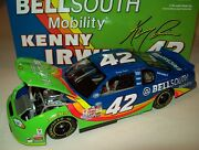 Kenny Irwin 2000 Bellsouth Mobility 42 Chevy Serial 0001 Rare 1/24 Nascar New