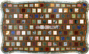 Adornment Marble Breakfast Table Top Mosaic Multi Inlay Garden Home Decor H3880