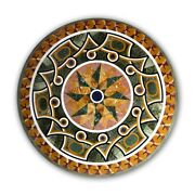 48 Marble Table Top Marquetry Inlay Work Handmade Decor