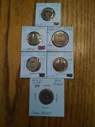 6 Iowa Good For One Fare Transportation Tokens Muscatine Sioux City More Aa559