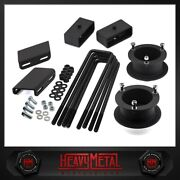 3.5 Front 2 Rear Lift Kit + Sway Bar Drop For 1994-2002 Dodge Ram 2500 3500