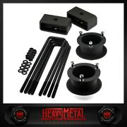 3.5 Front + 2 Rear Lift Kit For 1994-2002 Dodge Ram 2500 / 3500 4wd 4x4
