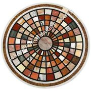 Marble Coffee Dining Table Top Mosaic Multi Inlay Bedroom Furniture Decor E612