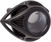 Arlen Ness Black Clear Tear Air Cleaner Filter Kit 00-17 Harley Dyna Touring Fld