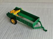 Britains 9540 Manure Spreader Farm Tractor Trailer In Green /used/