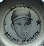 1967 Brooks Robinson Coke Cap Mint Never Used Never Find One Nicer Grade 10 ⚾