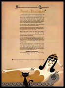 1964 Cleopatra Couch Black Cat Sports Illustrated Magazine Subscription Print Ad