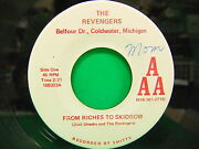 The Revengers From Riches To Skidrow / Revenger's Theme 45 Aaa 109323 Coldwater