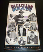Bluesland A Portrait In American Music Vhs 1993 Leadbelly/broonzy/rushing Vg+