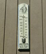 Antique Abbotts Bitters Thermometer Sign Adds Zest And Flavor To Beverages