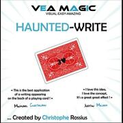 Haunted Write English / French By Christophe Rossius