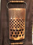 1979 Curtis Jeré Copper Cheese Grater Wall Sculpture Mid Century Modern Signed
