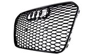 New Genuine Audi Rs6 Rs6 Plus Front Radiator Grille Glossy Black 4g0853651gt94