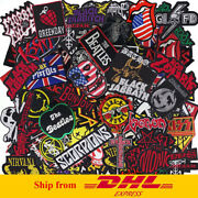 Iron On Patch Embroidered Wholesale Band Music Rock Punk Ship From Dhl Express