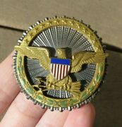 Us Army Military Department Of Defense Identification Badge Sterling Meyer