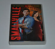 Smallville Season 8 Signed By Tom Welling 6 Dvds Autographed