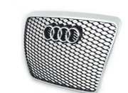 New Genuine Audi Rs6/rs6 Plus Front Radiator Grille Assembly 4f0853651alynp Oem