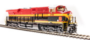 Kcs Railroad Ho-scale Ge Es44ac Diesel W/ Paragon3 Rolling Thunder Sound And Smoke