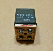 Korry Fits Sikorsky Aircraft Push Switch 70902-84851-110 , 5930-01-347-0694