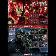Ironman Captain America Hot Toys Concept Art Version With Extra