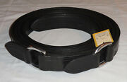 """Pair 89 1/2"""" Ideal Equestrian Leather Carriage Driving Full Size D-ring Traces"""