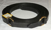 """Pair Nos 90"""" Ideal Equestrian Leather Carriage Driving Full Size D-ring Traces"""