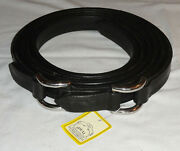 """Pair 75"""" Ideal Equestrian Leather Carriage Driving Pony Size Roller Bolt Traces"""