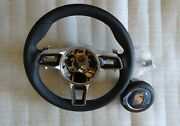 991 - 997.2 Pdk New Style Gt 3 Rs Black Leather Steering Wheel With New A .- Bag